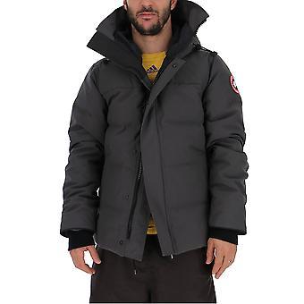 Canada Goose 3804m66 Men's Grey Nylon Down Jacket