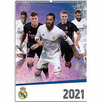 Real Madrid Calendar 2021