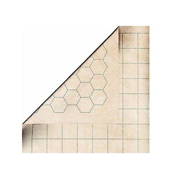 Reversible Megamat 1 Squares & 1 Hexes (34.5 x 48 Inches)