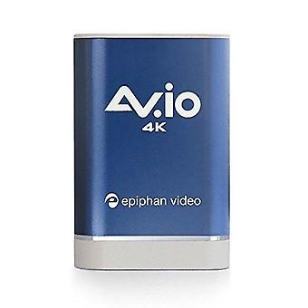 Av.io 4k - pegue e vá captura de vídeo usb para hd 1080p 60 fps e uhd 4k 30 fps