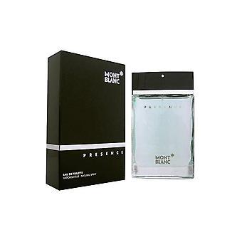 Mont Blanc Presence Men Eau de toilette spray 75 ml