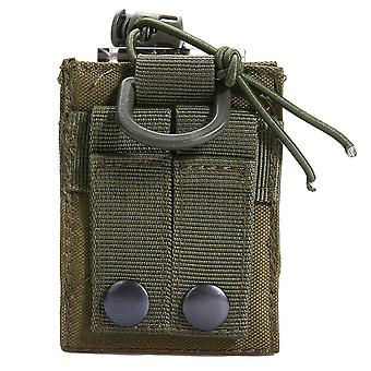 Pouch Walkie-talkie Holder Bag, Tactical Pendant Military Nylon Radio Magazine