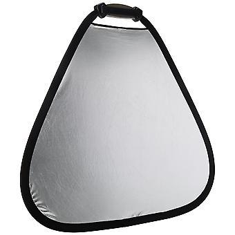 Lastolite ll lr3631 75cm trigrip reflector - silver/white 75 cm