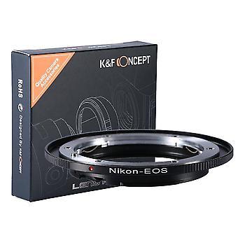 Nikon na eos, nikon na canon adaptér objektivu, k & f koncept objektivu připojit adaptér pro nikon nikkor f / ai připojit