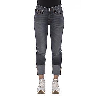 Women's Blue Care Label Jeans