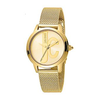 Just Cavalli Women's JC set Champagne Dial Stainless Steel Mesh Watch