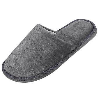 New Warm Short Plush Flock Home Slippers Hard-wearing Non-slip