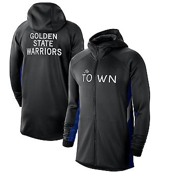 Golden State Warriors 201920 Earned Edition Showtime Full-zip Performance Hoodie