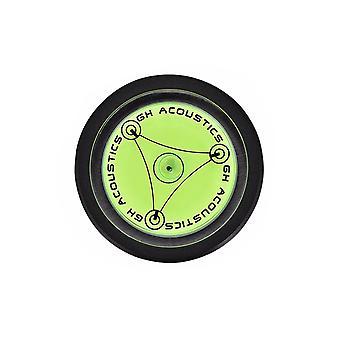 Stabilizzatore disco in alluminio Peso record LP Disco Stabilizzatore Giradischi Vinile Clamp