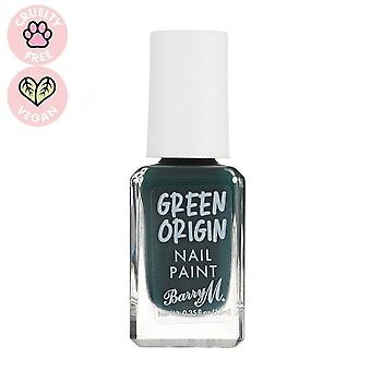 باري M الأخضر الأصل طلاء الأظافر -- دائمة الخضرة