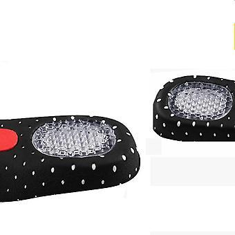Suporte de arco de silicone esporte e pad sport running gel sapato, inserção de palmilhas