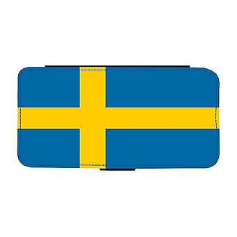 Custodia per portafoglio Swedish Flag iPhone 12 / iPhone 12 Pro