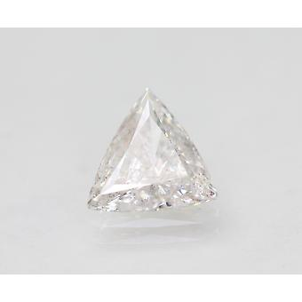 Certified 1.00 Carat D SI2 Trilliant Enhanced Natural Loose Diamond 7.97x7.95mm