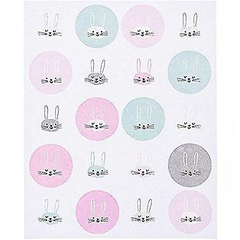 Rabbit Bunnies Unicorn Stickers Craft Stickers Pack of 340