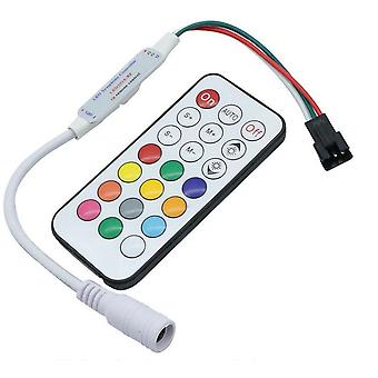 Led Symphony Controller With 21 Key Rf Remote Control