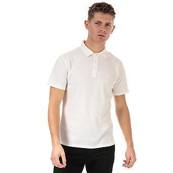Polo Jacquard en jersey de plaine Henri Lloyd en blanc