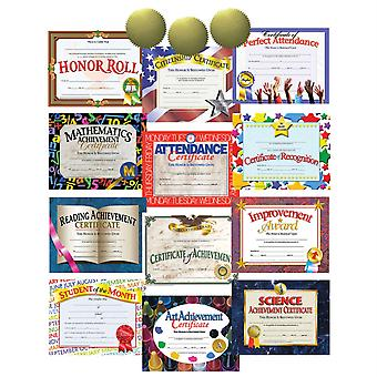 Best Selling Certificate Pack & Seal Assortment