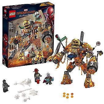 Lego 76128 marvel hämähäkkimies sula mies taistelu rakennettava hahmo ja mysterio minihahmo, spid