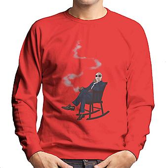 The Invisible Man In Chair Men's Sweatshirt