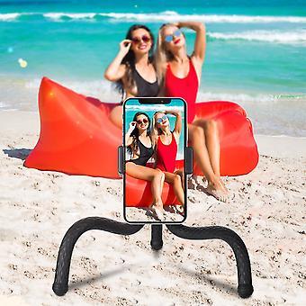 Bakeey 360 ° roterende universele flexibele protable reizen octopus uitzenden selfie fotograferen statief beugel houder staan voor mobiele telefoon
