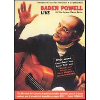 Baden Powell Live [DVD] USA import