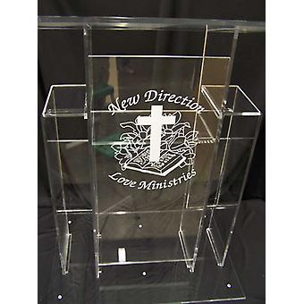 Acrylic Lectern Podium Pulpit Lectern Perspex Lectern