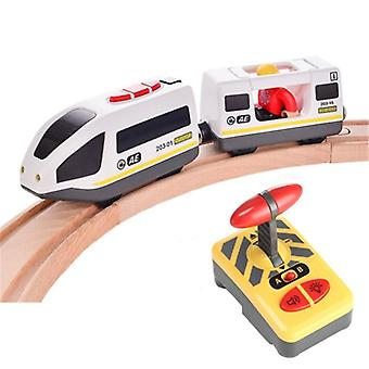 Toys For Remote Control Electric Train Toy Magnetic Slot Compatible