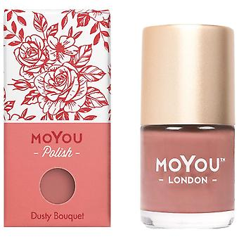 MoYou London Stamping Nail Lacquer - Dusty Bouquet 9ml (MN148)