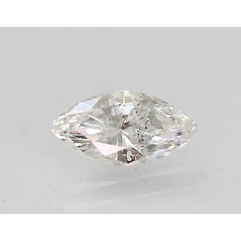 Sertifioitu 0,47 karat E SI1 markiisi paranneltu luonnollinen löysä timantti 7,9x4mm 2VG