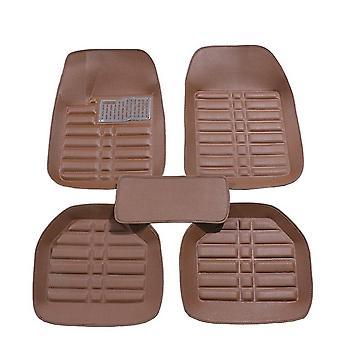 Five seat car floor mats