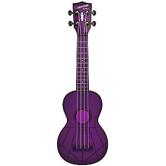 Kala waterman soprano ukulele fluorescent purple