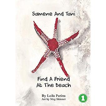 Samene and Tani Find a Friend at the Beach by Leila Parina - 97819258