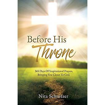 Before His Throne door Nita Schnitzer