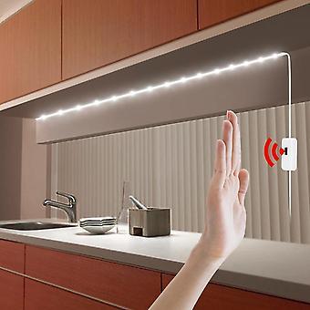 Hand sweep sensor LED kök ljus flexibel USB LED strip vägglampa 5V diod tejp bord nattlampa för TV bakgrundsbelysning garderob
