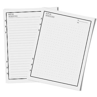 Ricarica, riutilizzabile, smart cancellabile notebook carta interna, compatibile con Pu A5