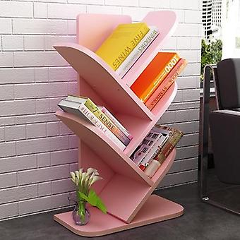 Children Cabinet Kids Furniture Solid Wood Bookshelf Racks Tree-shaped Kids
