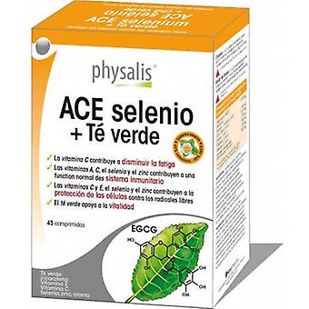 Physalis Selenium Ace + Green Tea 45 tablets