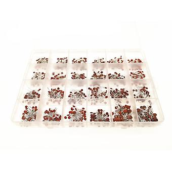 960pcs/lot Ceramic Capacitor Assortment Kit