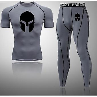 New Compression Men Sport Suits-  Jogging, Training, Gym Fitness Sets