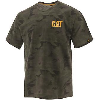 Camiseta de caterpillar unisex camuflaje nocturno 32227