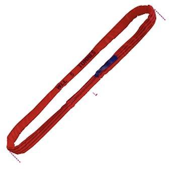 Beta 081780030 8178 SV3 - L1.5 Круглые стропы Красный 5t Hi-Ten Ремень 5000kg 1.5 Metre