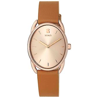 Tous watches dai watch for Analog Quartz Woman with Cowhide Bracelet 100350445