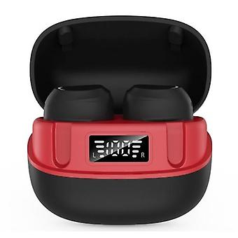 U6 TWS In-Ear BT Headphones with LCD-Digital Display Touch-Control Headsets