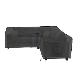 L-vorm tuinbank covers outdoor meubels stof cover waterdicht