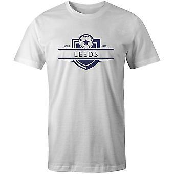 Leeds verenigde 1919 gevestigde badge voetbal t-shirt