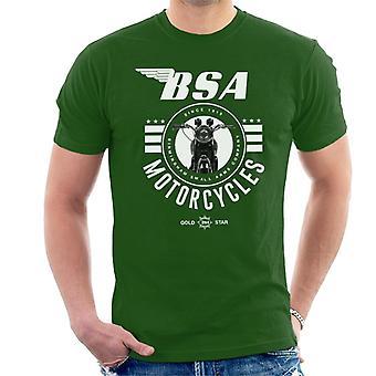 BSA Motorräder Gold Star Herren T-Shirt