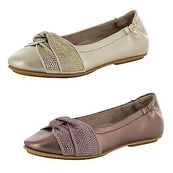 Fitflop Mujer Twiss Crystal Ballet Zapatos Planos