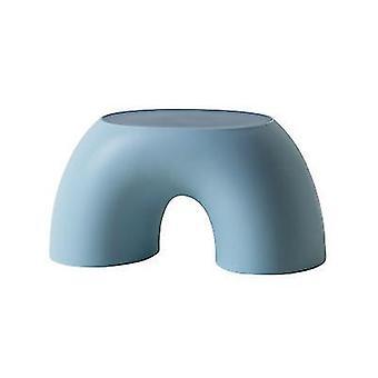 الأزرق قوس قزح على شكل براز الأطفال بسيطة صغيرة منزل البراز تقريب x4198