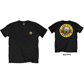 Guns N' Roses - Classic Logo Miesten pieni t-paita - Musta