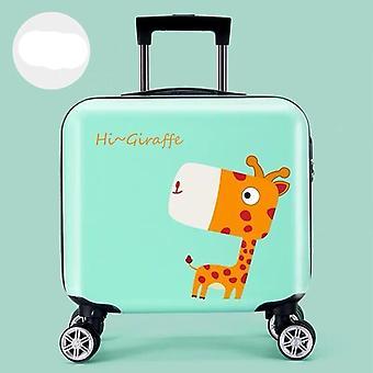 Barn Anime Tralle Kofferter På Hjul, Barn Reise Bagasje